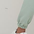"""Костюм женский Мята , с принтом аниме """" Бездомный бог """" Оверсайз спортивный Oversize тренд весны 2021, фото 3"""