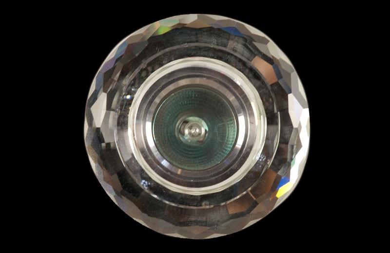 Скляний точковий світильник