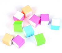 Бафик для манікюру (різні кольори) КВАДРАТ 5 штук, фото 1