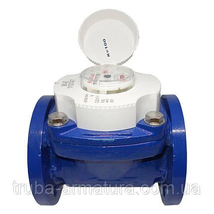 Счетчик воды турбинный фланцевый Baylan W-6 Ду 50, фото 2