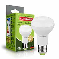 Світлодіодна рефлекторна EUROLAMP LED Лампа ЕКО R63 9W E27 4000K