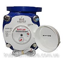 Счетчик воды турбинный фланцевый Baylan W-6 Ду 50, фото 3