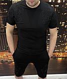 Костюм Чол. 2XL(р) чорний 1002-21 Philipp Plein Туреччина Літо-D, фото 2