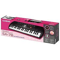 Лучший подарок для ребенка! Детский синтезатор Casio SA-78 с системой обучения