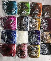Перьевая тесьма из перьев  петуха, упаковка, цвет на выбор
