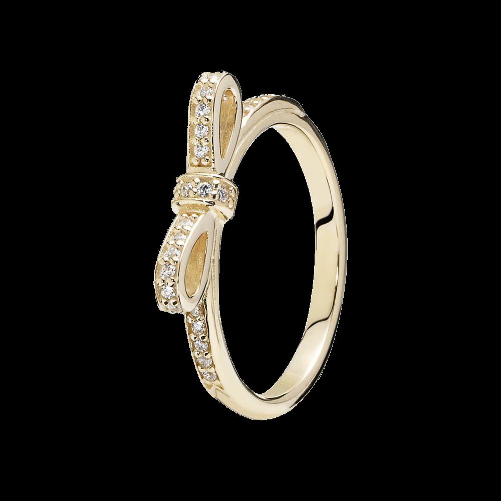 Серебряное кольцо Pandora 150175CZ