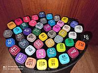 Скетч маркеры SketchMarker Touch двусторонние для бумаги набор 48 шт., скетч маркеры для скетчинга