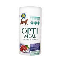 Сухой корм для взрослых кошек Optimeal со вкусом утки 650 г (4820083905766)