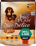 Сухой корм Purina Pro Plan Duo Delice Для взрослых собак мелких и карликовых пород с говядиной 700 г, фото 1
