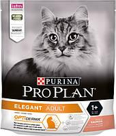 Сухой корм для котов Purina Pro Plan Elegant с лососем 400 г