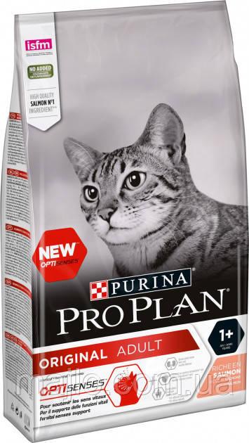 Сухий корм для котів Purina Pro Plan Original з лососем 1.5 кг (7613036508193)