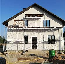 Рамные строительные леса комплектация  2 х 9 (м)