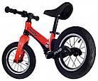Беговел (велобіг від) дитячий Maraton Splash з надувними колесами Червоний, фото 3