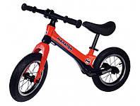 Беговел (велобіг від) дитячий Maraton Splash з надувними колесами Червоний, фото 1