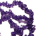 Відколи Кварц Бузково-Фіолетові Кубиками, Розмір від 4 до 6 мм, Намистини Натуральний Камінь, Рукоділля, фото 2