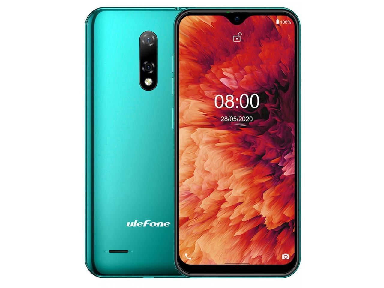 Смартфон Ulefone Note 8P 2/16Gb Midnight Green