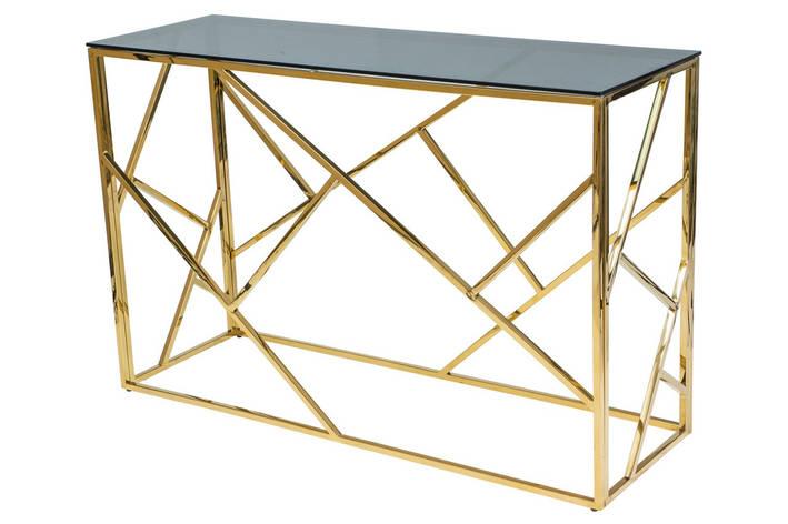 Журнальный стол Signal Мебель Escada C Золотой (ESCADACZLC), фото 2
