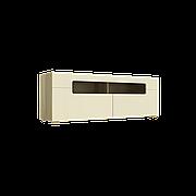 Тумба TV Інтарсіо Fusion B 1402*500 мм Дуб скельний + Слонова кістка (FUSION_B)