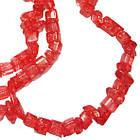 Намистини Відколи Кварц Червоний Кубиками, Розмір від 4 до 6 мм, Намистини Натуральний Камінь, Рукоділля, фото 4