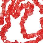 Намистини Відколи Кварц Червоний Кубиками, Розмір від 4 до 6 мм, Намистини Натуральний Камінь, Рукоділля, фото 5