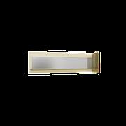 Навісна Поличка Інтарсіо Fusion I з дзеркалом 1402х400 мм Дуб скельний + Слонова кістка (FUSION_I)
