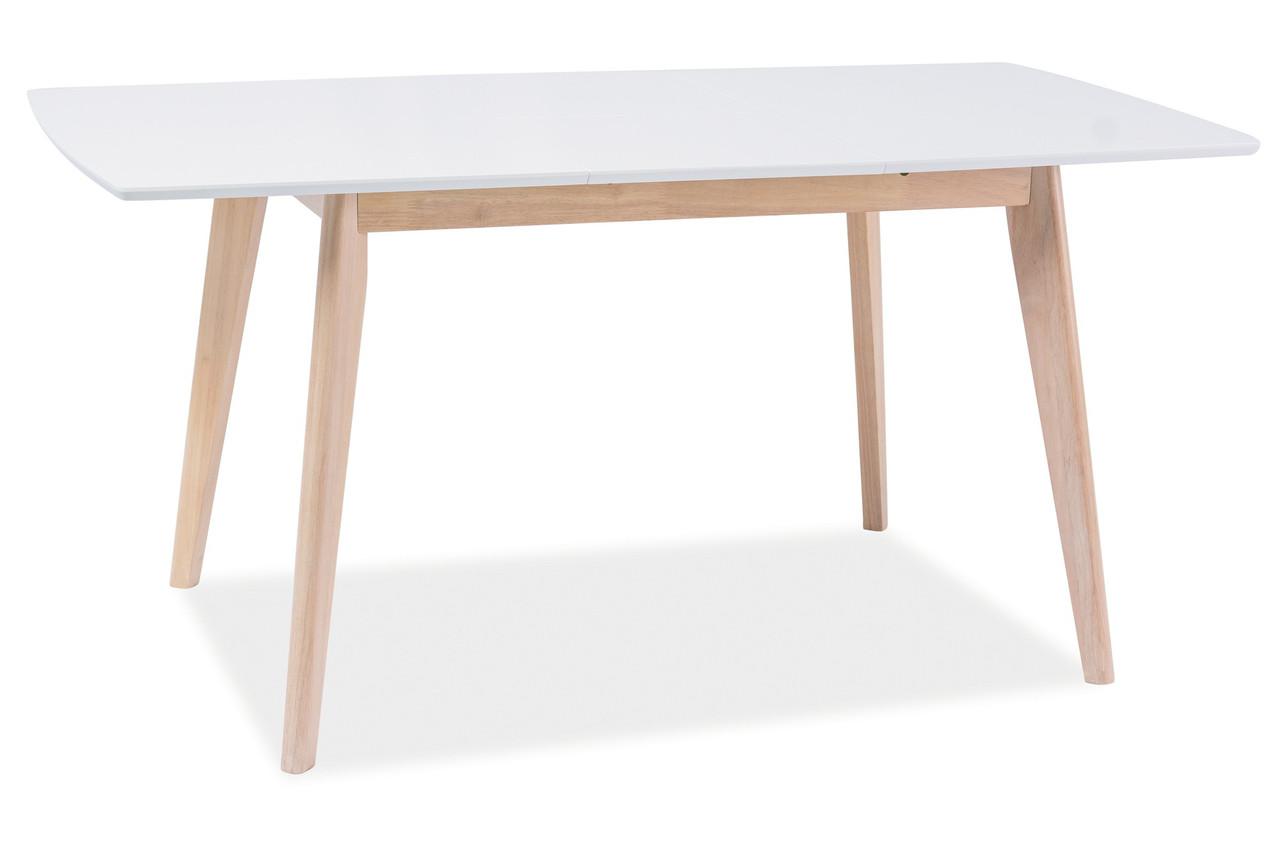 Стол обеденный Signal Мебель Combo II 120(160) х 80 см Белый (COMBOIIDBB120X80)