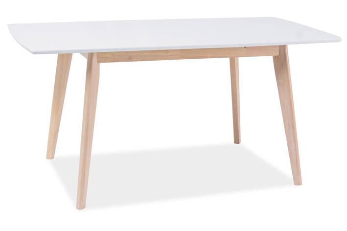 Стол обеденный Signal Мебель Combo II 120(160) х 80 см Белый (COMBOIIDBB120X80), фото 2