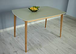 Стіл обідній Intarsio Exen 120х80 см Сірий