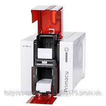 Принтер для друку пластикових карт Evolis Primacy (Ethernet+USB). Двосторонній друк