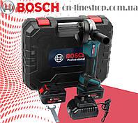 Аккумуляторная болгарка Bosch GWX 48V-10C ( 48V, Ø125 мм) УШМ болгарка бош. Угловая шлифмашина бош. Турбинка
