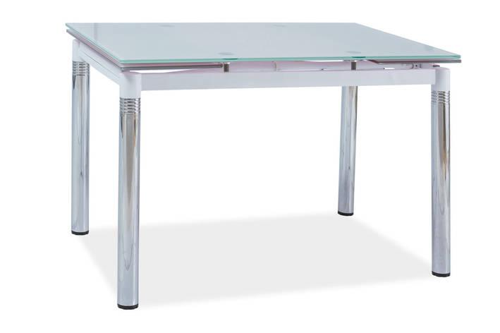 Стіл обідній Меблі Signal GD-018 110(170) х 74 см Білий (GD018BCH110), фото 2