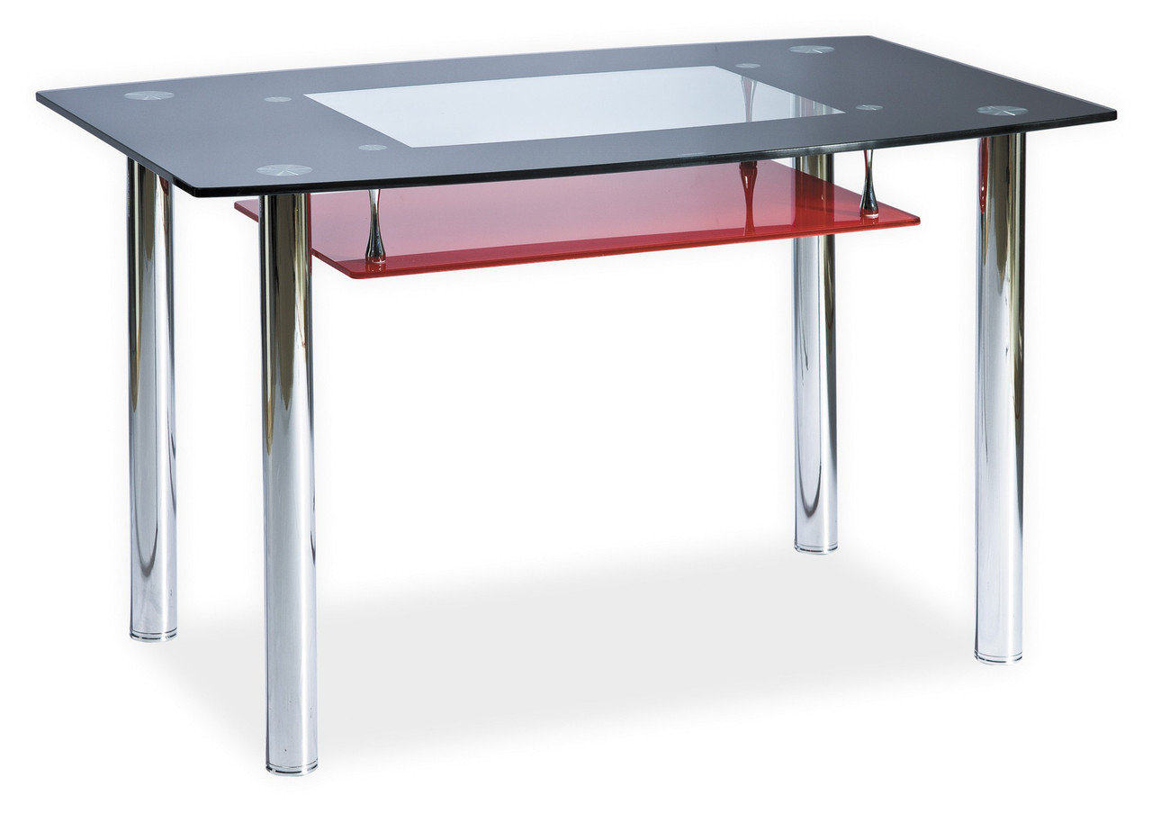 Стол обеденный Signal Twist A 120х75 см Красный (TWISTACCZ120)