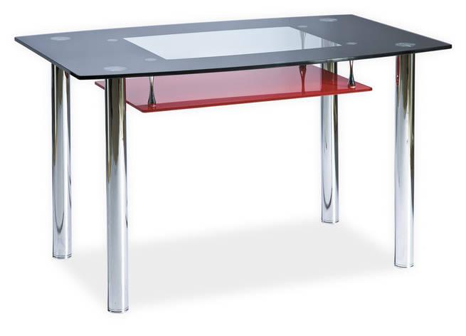 Стол обеденный Signal Twist A 120х75 см Красный (TWISTACCZ120), фото 2