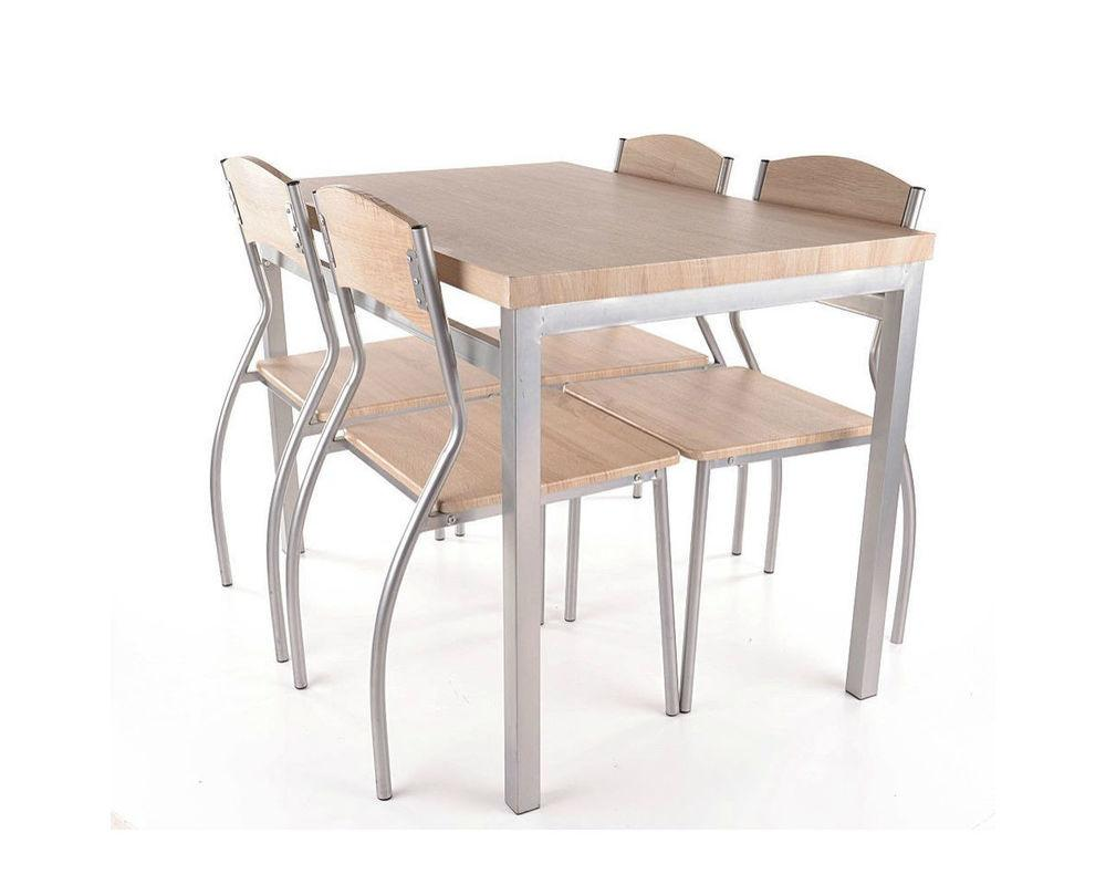 Комплект столовый Signal Мебель Astro 110х70 см Дуб сонома (ASTROD)