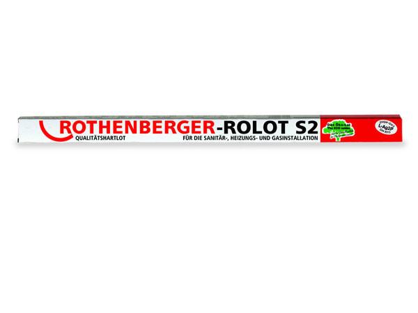 Твердый припой ROLOT S 2, (Ролот S 2) L-AG 2  ROTHENBERGER