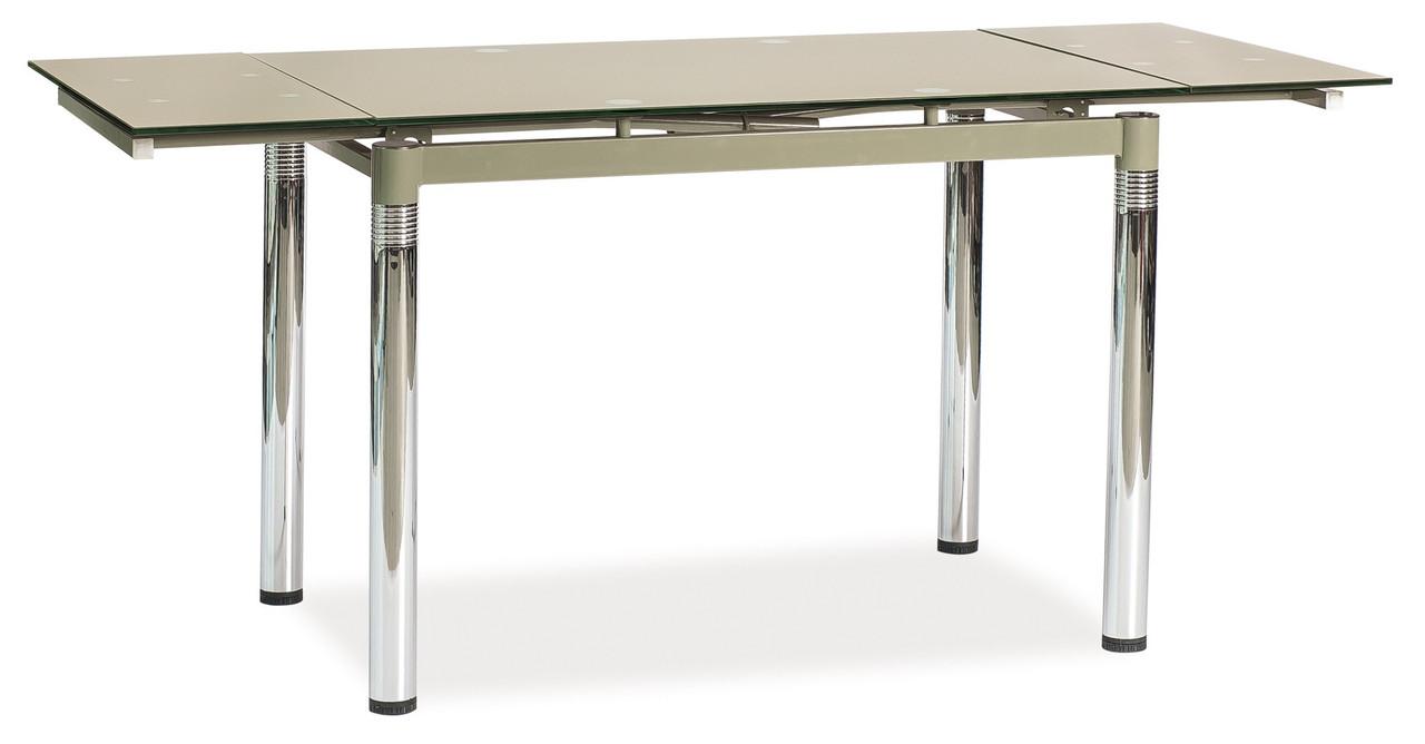Стіл обідній Меблі Signal GD-018 110(170) х 74 см Бежевий (GD018CB)