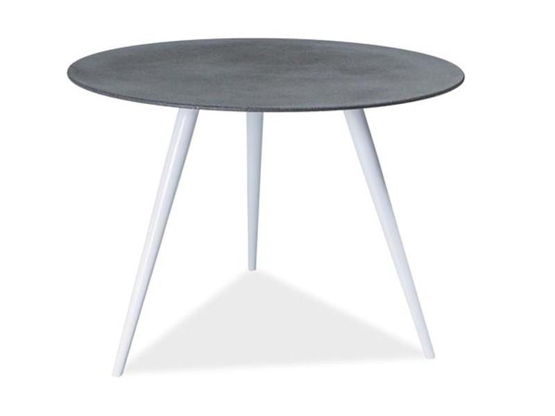 Стол обеденный Signal Мебель Evita 100 х 100 см Серый (EVITASZ)