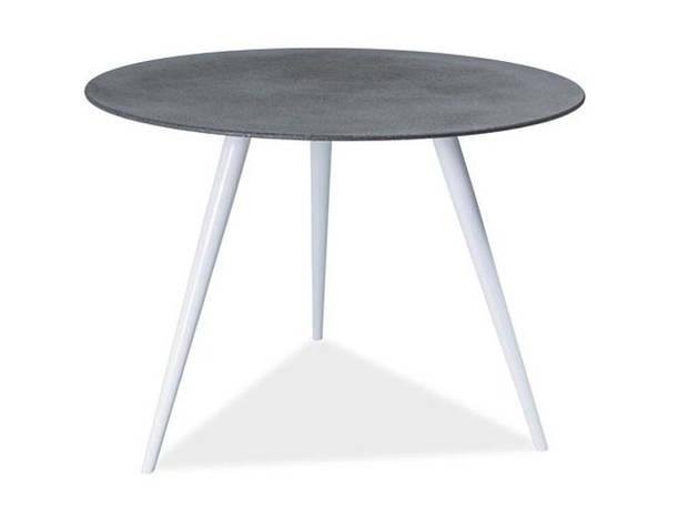 Стол обеденный Signal Мебель Evita 100 х 100 см Серый (EVITASZ), фото 2