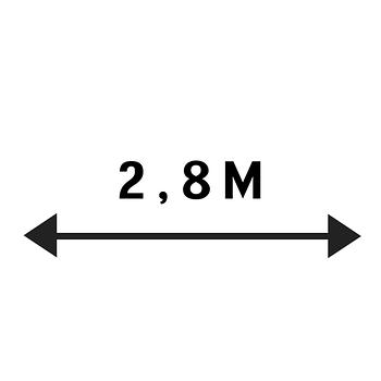 2,8 м