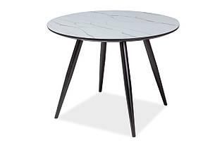 Стіл обідній Signal Ideal 100 см Чорний матовий (IDEALC100), фото 2