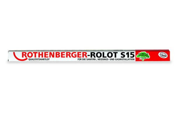 Твердый припой ROLOT S 15, (Ролот S 15) L-AG 15 ROTHENBERGER