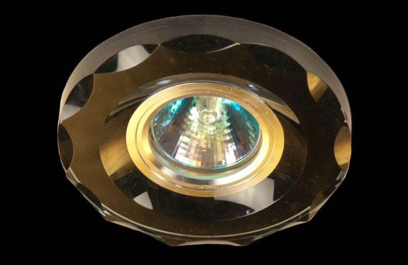 Чёрный точечный светильник