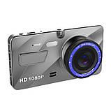 Автомобільний відеореєстратор DVR V2 2 камери | автореєстратор | реєстратор авто, фото 5