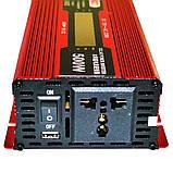 Перетворювач Ukc авто інвертор 12В-220В 500W + Екран, фото 3
