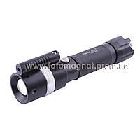 Фонарь Police 12v Small Sun ZY-R896 XPE, ак. 18650, лазер, zoom(аккумуляторный светодиодный фонарь)