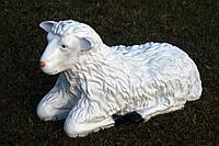 Овца лежащая