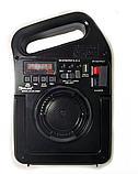 Портативный радиоприемник Golon RX-498LS, Power Bank, usb, sd, солнечная батарея, фото 2