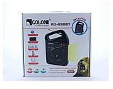 Портативный радиоприемник Golon RX-498LS, Power Bank, usb, sd, солнечная батарея, фото 5