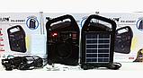 Портативный радиоприемник Golon RX-498LS, Power Bank, usb, sd, солнечная батарея, фото 6