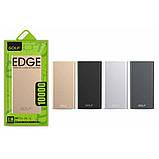 Power Bank 10000mAh GOLF Edge 10 / Портативная батарея / внешний аккумулятор, фото 8